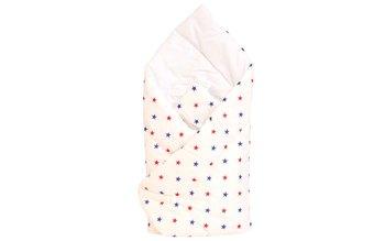 Cottolare, Rożek niemowlęcy Lux, drukowany, Gwiazdki, Granat i Czerwone-Cottolare