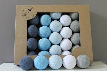 Cotton Balls Blue Wind : Ilość sztuk - 10-MIA home