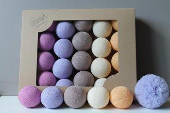 Cotton Balls Wrzosowe : Ilość sztuk - 35-MIA home