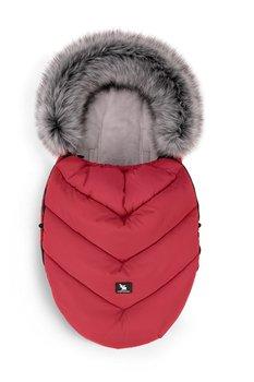 CottonMoose, Śpiworek do wózka, Mini Moose, Yukon, Czerwony-CottonMoose