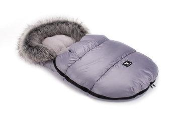 Cottonmoose, Śpiworek zimowy, Mini Moose z futerkiem, Szary-CottonMoose