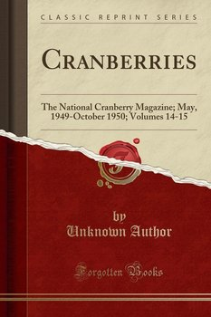 Cranberries - Author Unknown