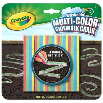 Crayola, kreda multikolorowa-Crayola