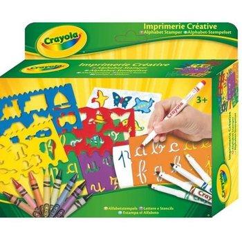 Crayola, szablony z Alfabetem, zestaw-Crayola