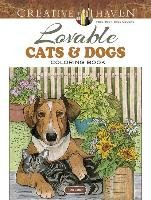 Creative Haven Lovable Cats and Dogs Coloring Book-Soffer Ruth