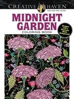 Creative Haven Midnight Garden Coloring Book: Heart & Flower - Boylan Lindsey