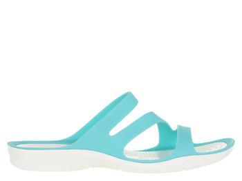 Crocs, Klapki damskie, błękitny, rozmiar 3839 Crocs
