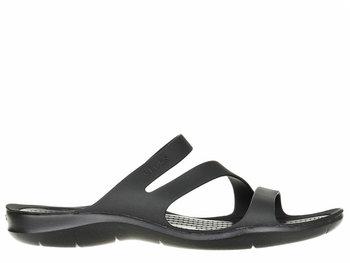 Crocs, Klapki damskie, czarny, rozmiar 3637