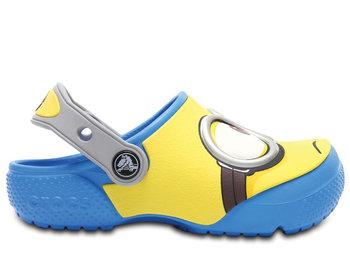Crocs, Klapki dziecięce, Funlab Despicable Me Minionki, niebieski, rozmiar 22 12