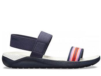 nowy przyjazd w magazynie ładne buty Crocs, Sandały damskie, Crocs LiteRide, granatowy, rozmiar 38 1/2