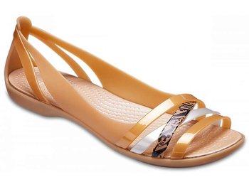 świetne oferty informacje o wersji na najlepsza wyprzedaż Crocs, Sandały damskie, Isabella Graph Huarache 2 Flat ...