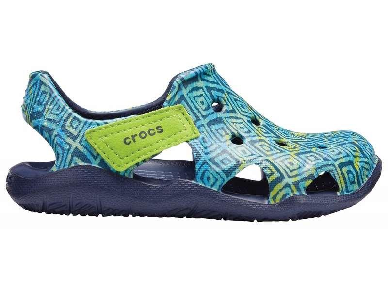 Crocs, Sandały dziecięce, Swiftwater Wave Graphic Kids