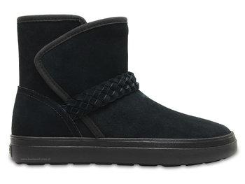 najwyższa jakość klasyczne buty fantastyczne oszczędności Crocs, Śniegowce damskie, Lodge Point Suede Bootie W, rozmiar 36,5