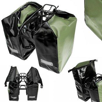 Crosso, Sakwa na bagażnik, Dry Big, oliwkowy, 60l-Crosso