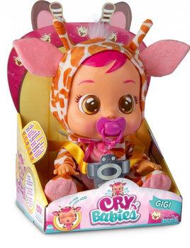 Cry Babies, lalka interaktywna Gigi-Cry Babies