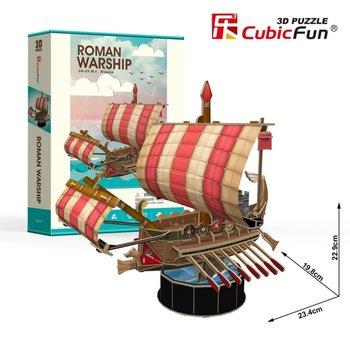 Cubic Fun, puzzle 3D Roman Warship-Cubic Fun