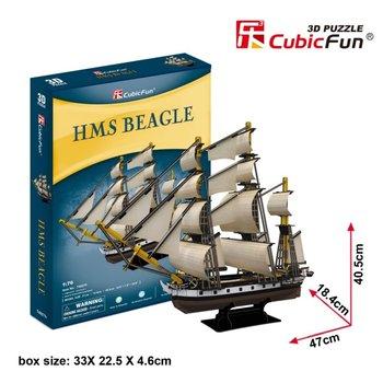 Cubic Fun, puzzle 3D Żaglowiec HMS Beagle-Cubic Fun