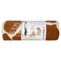 Cuddledry, Ręcznik niemowlęcy bambusowy, 110x75 cm, żyrafka