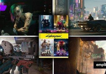 """""""Cyberpunk 2077. Jedyna oficjalna książka o świecie gry Cyberpunk 2077"""" – recenzja"""