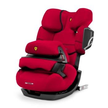 Cybex, Pallas 2-fix Ferrari, Fotelik samochodowy, 9-36 kg, Racing Red-Cybex
