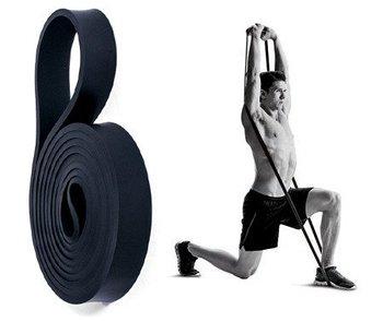 Czarna taśma oporowa guma do ćwiczeń SMJ EX001 11-29 kg-SMJ Sport