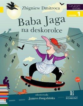 Czytam sobie. Baba Jaga na deskorolce. Poziom 1                      (ebook)