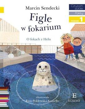 Czytam sobie. Figle w Fokarium. O fokach z Helu. Poziom 1                      (ebook)