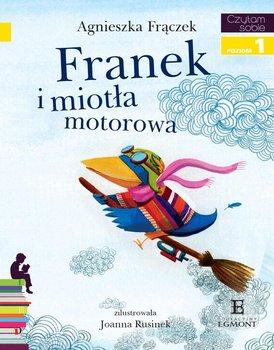 Czytam sobie. Franek i miotła motorowa. Poziom 1                      (ebook)
