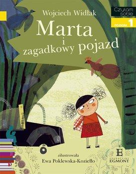 Czytam sobie. Marta i zagadkowy pojazd. Poziom 1                      (ebook)