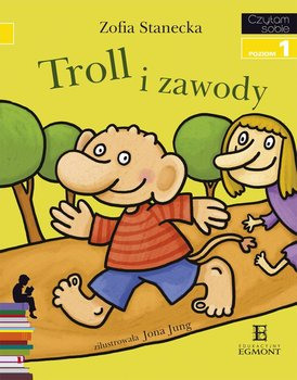 Czytam sobie. Troll i zawody. Poziom 1                      (ebook)