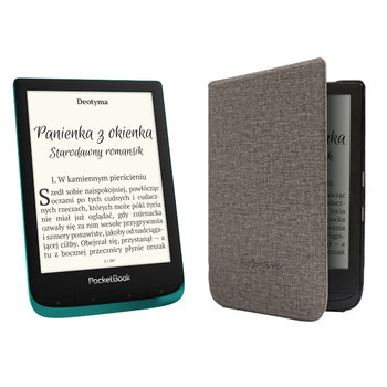 Czytnik e-booków POCKETBOOK Touch Lux 4 + etui-PocketBook
