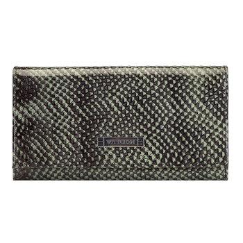 Damski portfel z RFID ze skóry lizard 26-1-415-1-WITTCHEN