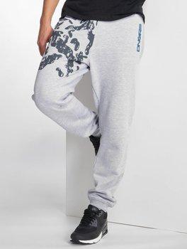 Dangerous DNGRS, Spodnie męskie dresowe InDaBox, szary, rozmiar S-Dangerous DNGRS
