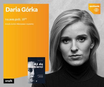 Daria Górka | Czytelnia Empik Junior