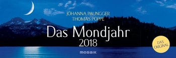 Das Mondjahr 2018 Wochenkalender-Paungger Johanna, Poppe Thomas