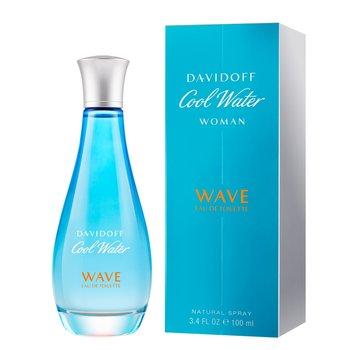 Davidoff, Cool Water Wave Woman 2018, woda toaletowa, 100 ml-Davidoff