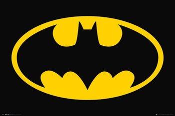 DC Comics Bat Symbol - plakat 91,5x61 cm-GBeye