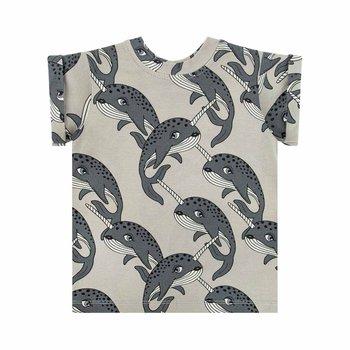 Dear Sophie Narwal T-shirt - 122-128-DEAR SOPHIE