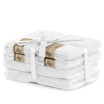 DecoKing Zestaw Ręczników 40% Bambus Biały 2*70x140 + 4*50x100-DecoKing