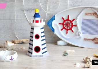 W marynarskim stylu - dekoracje dla miłosników morskiej żeglugi i nie tylko