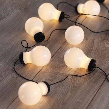 Dekoracyjne lampki LED w kształcie żarówki – Cocco DecoKing-DecoKing