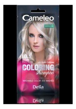Delia, Cameleo, szampon koloryzujący 10.1 Srebrny Blond, 40 ml-Delia