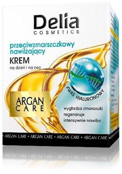Delia Cosmetics, Argan Care, krem przeciwzmarszczkowy nawilżający na dzień i noc, 50 ml-Delia Cosmetics