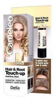 Delia Cosmetics, Cameleo, korektor tuszujący odrosty i siwe włosy, 2 Słoneczny blond, 4 g-Delia
