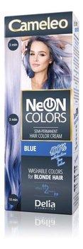 Delia Cosmetics, Cameleo Neon Colors, farba do włosów, 01 BLUE-Delia