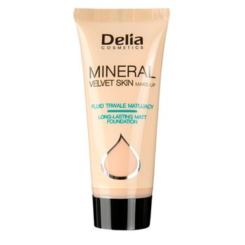 Delia Cosmetics, Mineral Velvet Skin, fluid matujący nr 34, 35 ml-Delia Cosmetics