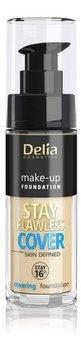 Delia Cosmetics Stay Flawless Cover Podkład kryjący 16H NR502 Natural 30ml-Delia Cosmetics