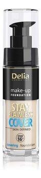 Delia Cosmetics Stay Flawless Cover Podkład kryjący 16H NR503 Warm Beige 30ml-Delia Cosmetics