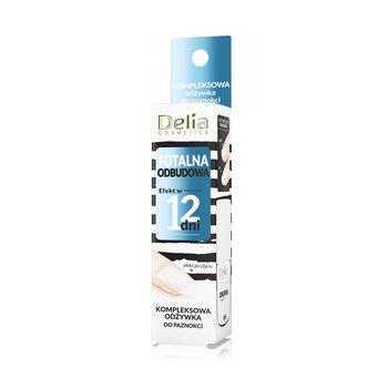 Delia Cosmetics, Totalna Odbudowa, kompleksowa odżywka do paznokci, 11 ml-Delia Cosmetics