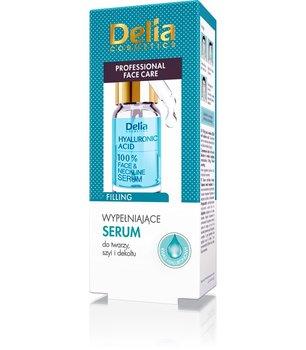 Delia, Hyaluronic Acid, nawilżające serum do twarzy z kwasem hialuronowym, 10 ml-Delia